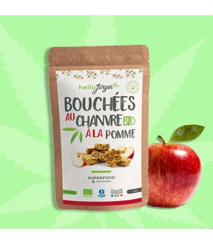 Bouchées au chanvre Bio à la pomme