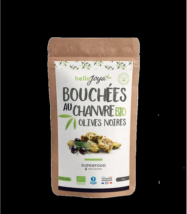 Bouchées au chanvre Bio et aux olives