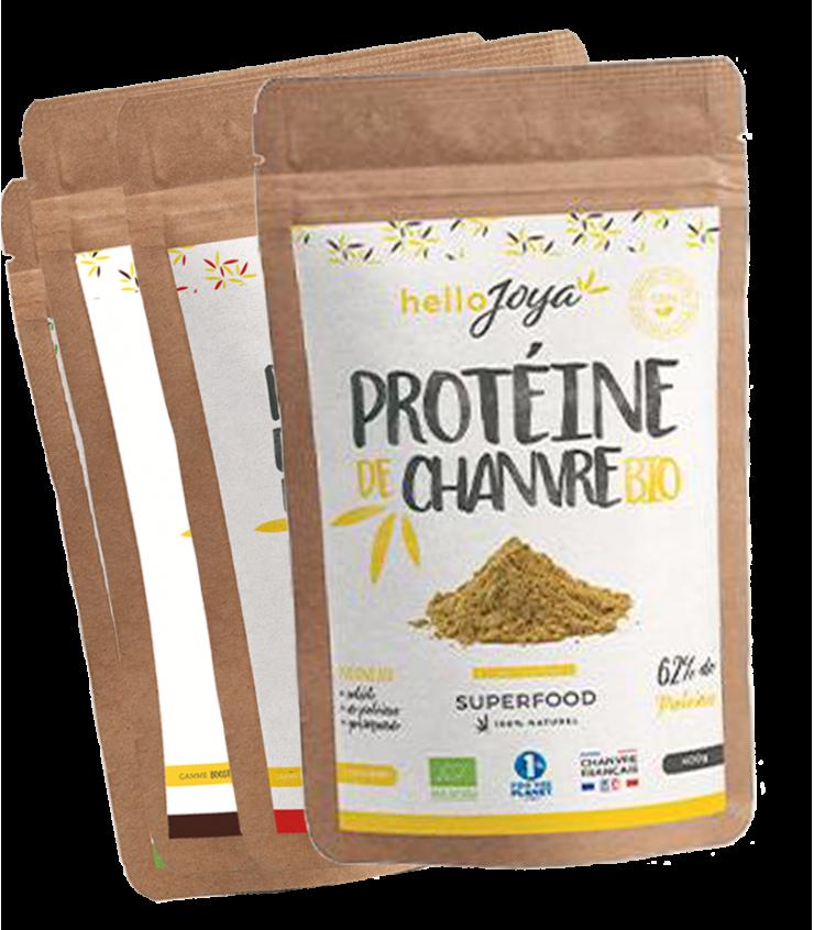 Offre protéine de chanvre