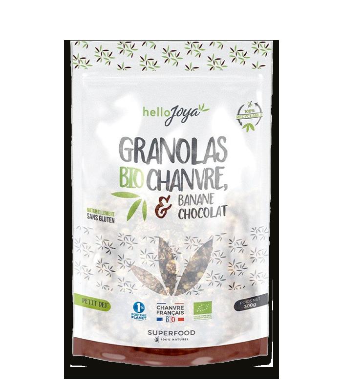 Granola Bio au Chanvre goût...