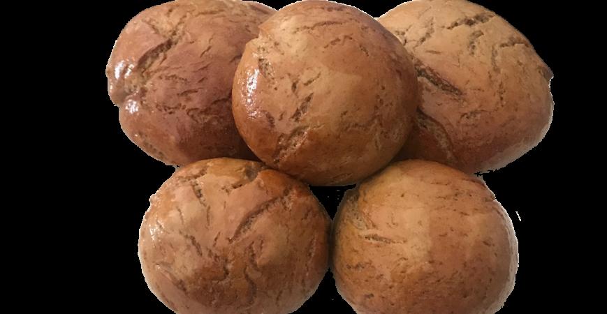 Petits pains à la protéine de chanvre